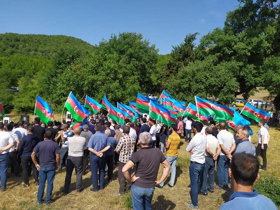 Шехид Хайям Дашдемиров похоронен в Исмаиллинском районе - ФОТО
