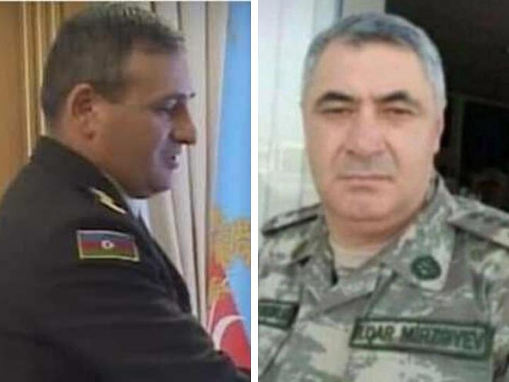 Azərbaycan ordusunun generalı və polkovniki şəhid olub - Nazir müavini