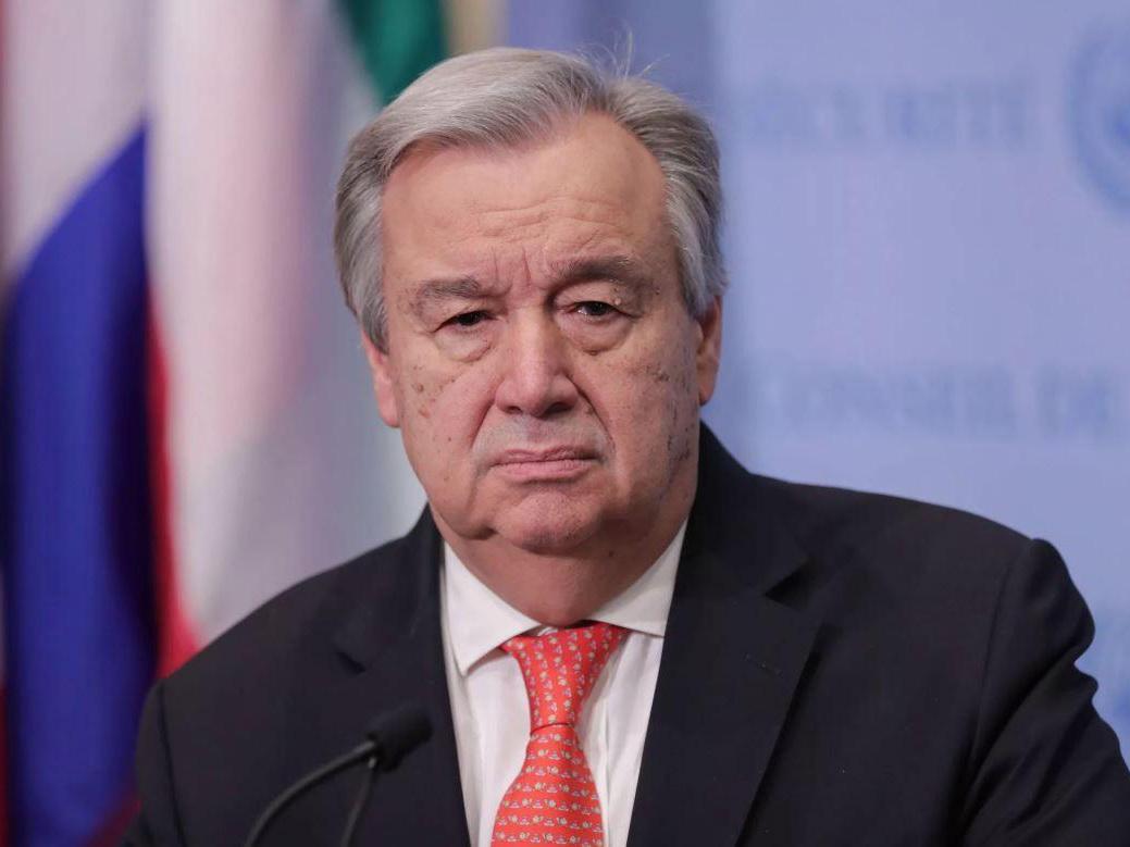 Генсек ООН призвал Азербайджан и Армению к прекращению огня