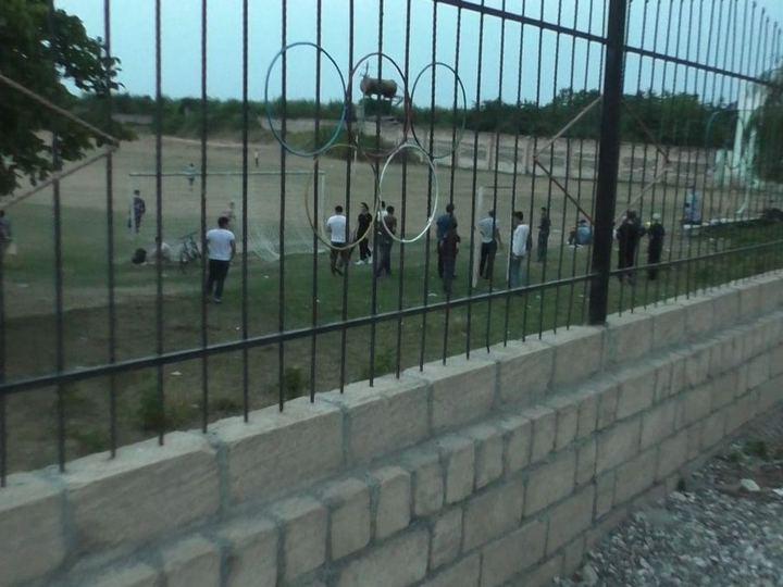 Qubada karantin rejimini pozub futbol oynayanlar cərimələndi - FOTO