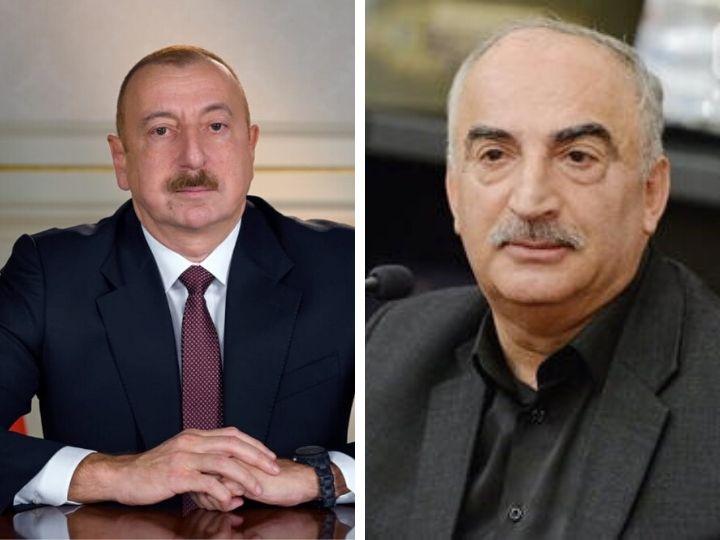 НатигРасулзадеобратился кИльхаму Алиеву: «Я не политик, не дипломат, я – писатель,но прежде всего…»
