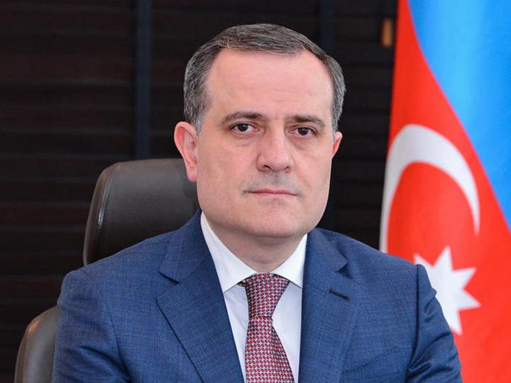 Джейхун Байрамов принимает участие в чрезвычайной видеоконференции в связи с провокацией Армении