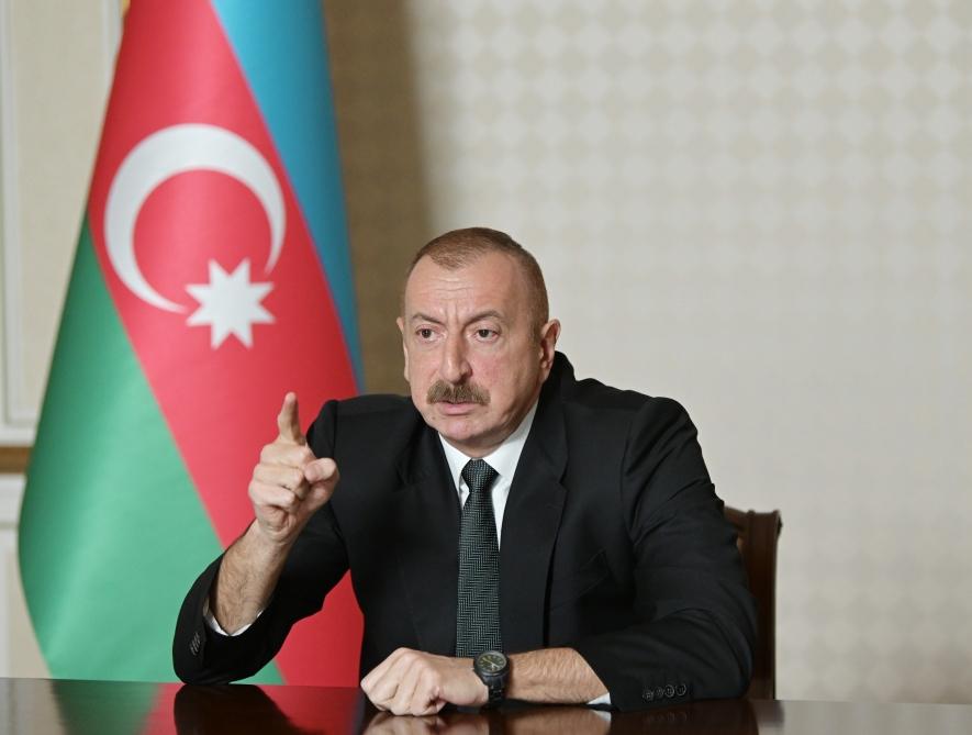 Ильхам Алиев: Ежедневно в кабинете президента ели колбасу и пили водку, каждый день, с ночи до утра - ВИДЕО