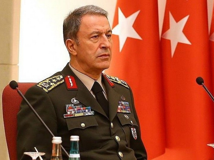 Хулуси Акар: Турция и ее армия готовы до конца поддерживать Азербайджан в борьбе с армянской агрессией
