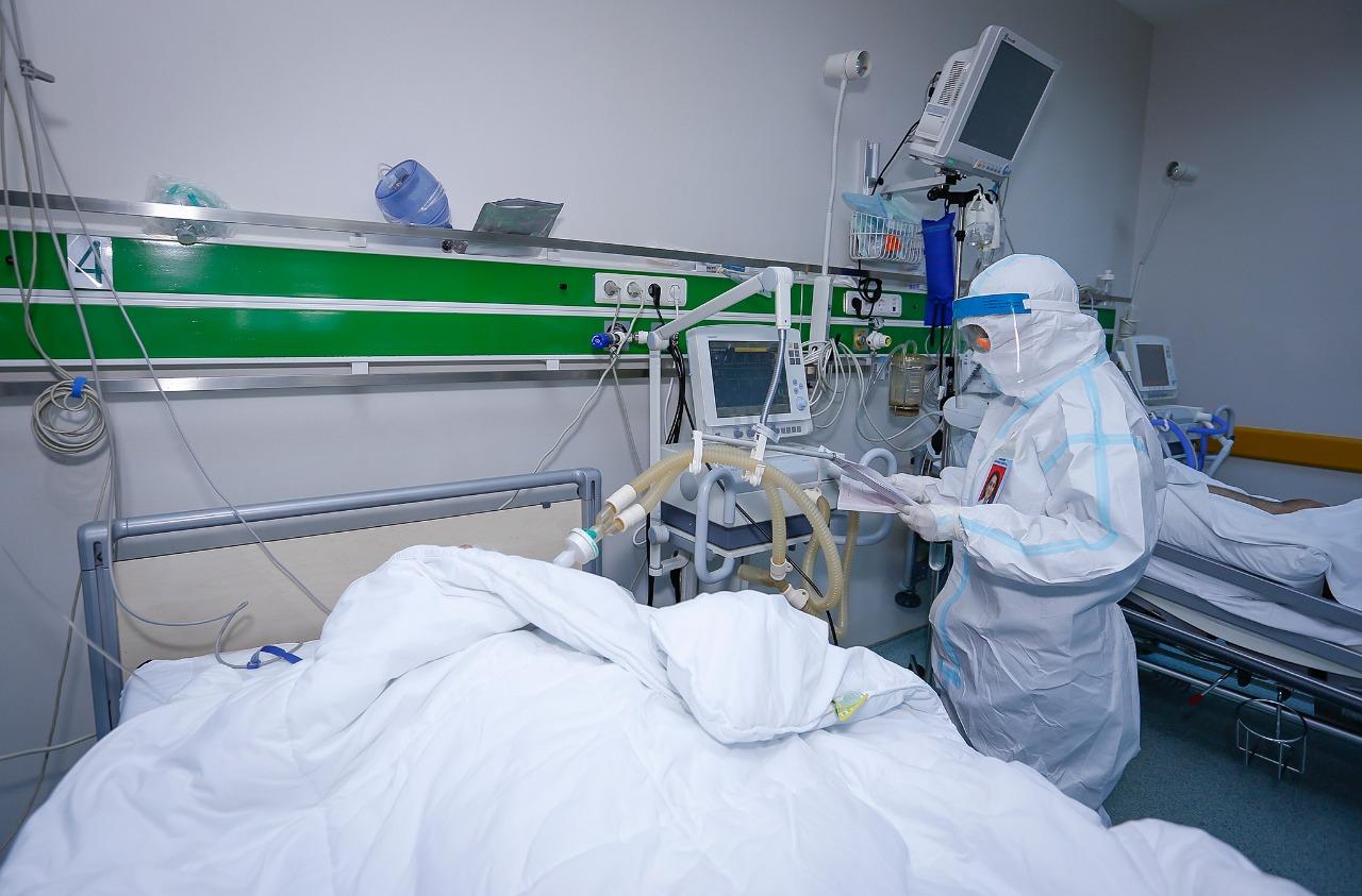 В Центральном таможенном госпитале при лечении COVID-19 в четвертый раз используют ЭКМО – ФОТО