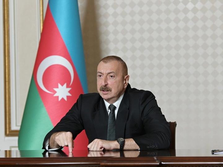 Президент Азербайджана - о потерях армянской армии в ходе боевых действий