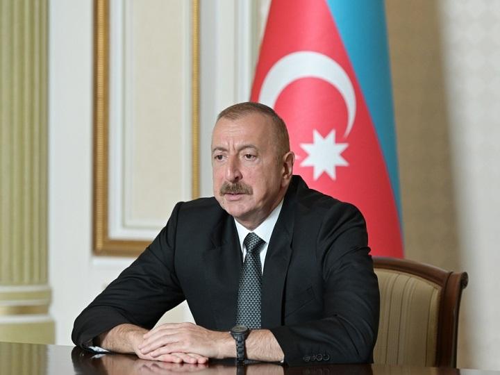 Ильхам Алиев: Произошедшее в церкви в Шуше - либо ошибка, либо совершено армянами с тем чтобы обвинить нас