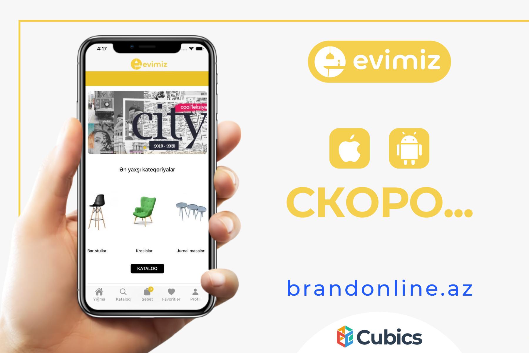 Evimiz и CUBICS договорились о создании онлайн-магазина товаров для дома на технологии Brandonline!