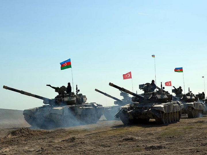 Azərbaycan-Türkiyə birgə genişmiqyaslı hərbi təlimləri başlayır
