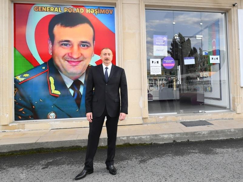 Ильхам Алиев дал указание присвоить имя Полада Гашимова одной из улиц в Габале
