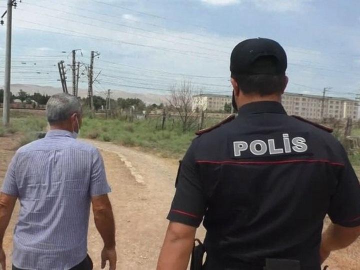 Qubaya torpaq yolla sərnişin daşıyan sürücülər həbs edilib - FOTO