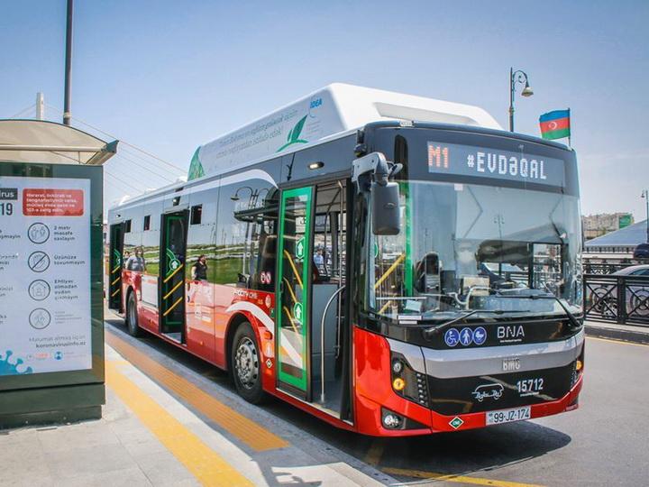 В выходные дни общественный транспорт Баку работать не будет