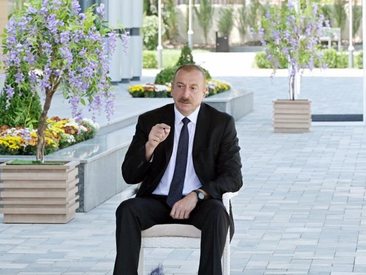 Ильхам Алиев: «Арменияфактически разрушает переговорный процесс»