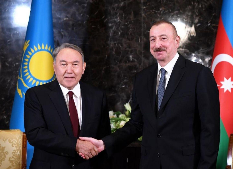 Состоялся телефонный разговор Ильхама Алиева и Нурсултана Назарбаева
