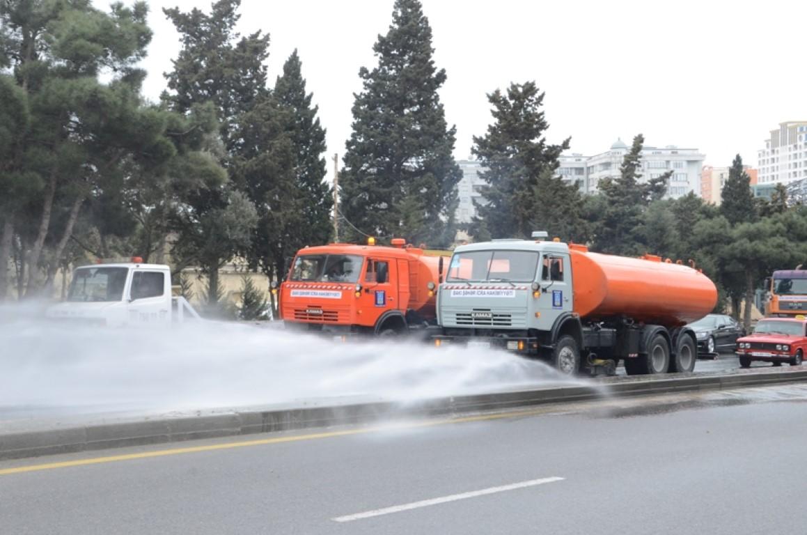 Жителей Баку просят в этот день не выходить на улицу