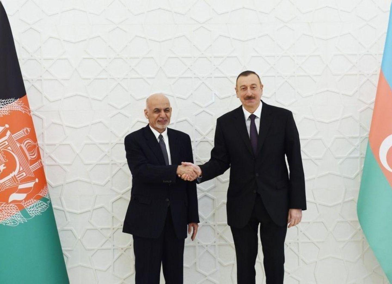Президент Афганистана поздравил Ильхама Алиева с Гурбан байрамы