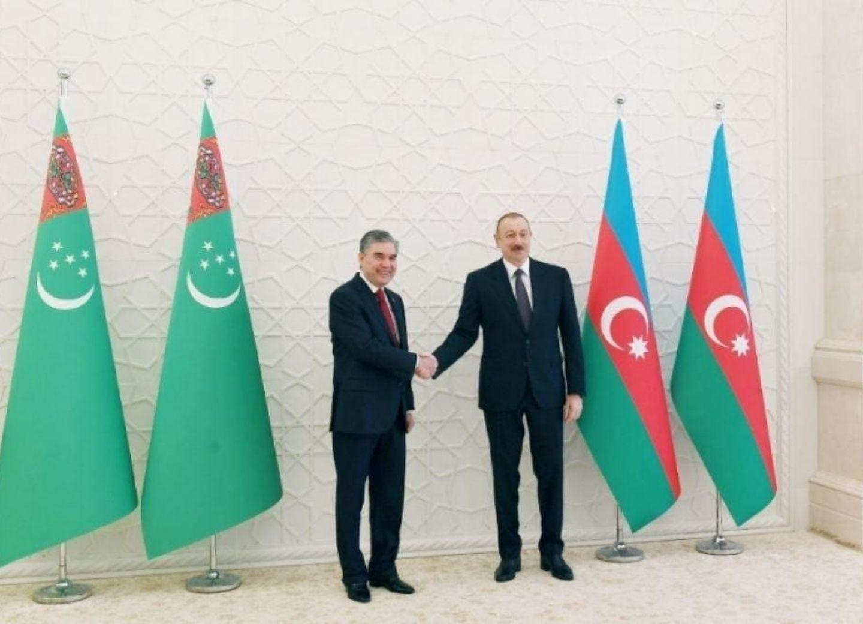 Президенты Азербайджана и Туркменистана выразили уверенность в дальнейшем укреплении связей