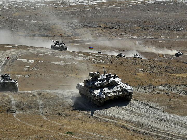 Продолжаются азербайджано-турецкие совместные широкомасштабные тактические учения – ФОТО – ВИДЕО