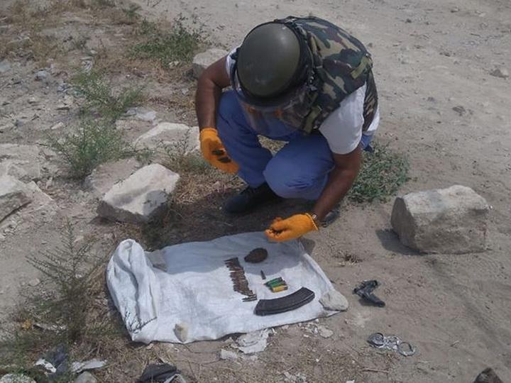В поселке Нардаран обнаружены боеприпасы – ФОТО