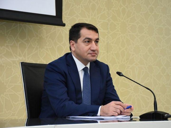 Хикмет Гаджиев: Для оценки военных преступлений Армении должен быть создан военный трибунал