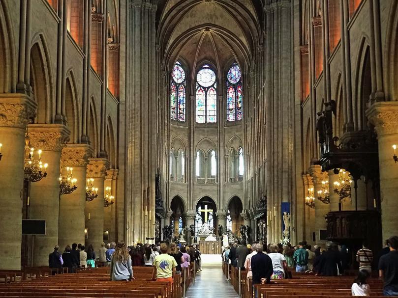 В соборе Нотр-Дам-де-Пари началась реставрация органа