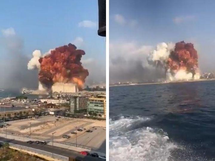 Мощнейший взрыв прогремел в порту Бейрута. Удар ощущался за километры – ФОТО – ВИДЕО