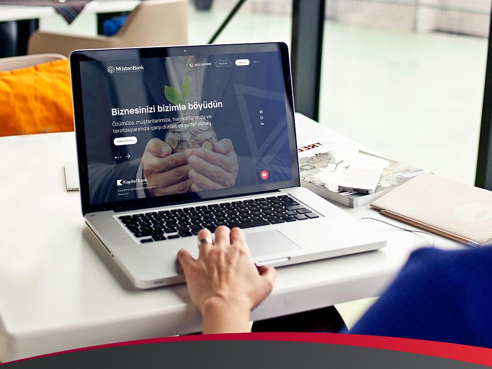 Kapital Bank представил полностью цифровой онлайн-сервис открытия счетов