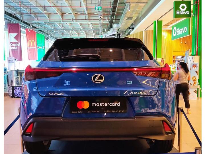 Рассчитайся в Bravo при помощи Mastercard и уезжай на новом Lexus - ФОТО