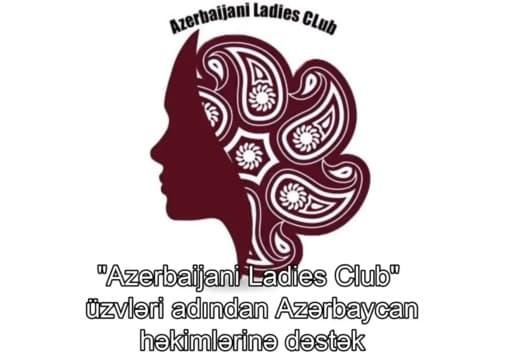 """""""Azerbaijani Ladies Club"""" üzvlərindən Azərbaycan həkimlərinə dəstək mesajı - VİDEO"""