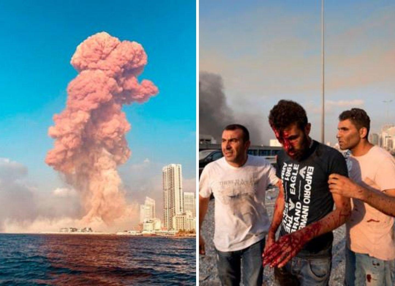 Последствия взрыва в порту Бейрута – ФОТО – ВИДЕО