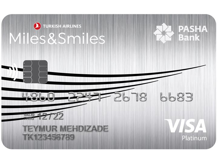 Новая милевая карта PASHA Bank Miles&Smiles Visa Platinum со скидкой в 50%: современные возможности стали еще доступнее!