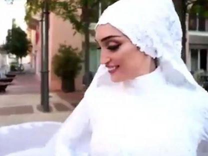 Невеста из Бейрута о взрыве: «Вся моя жизнь промелькнула перед глазами...» - ВИДЕО