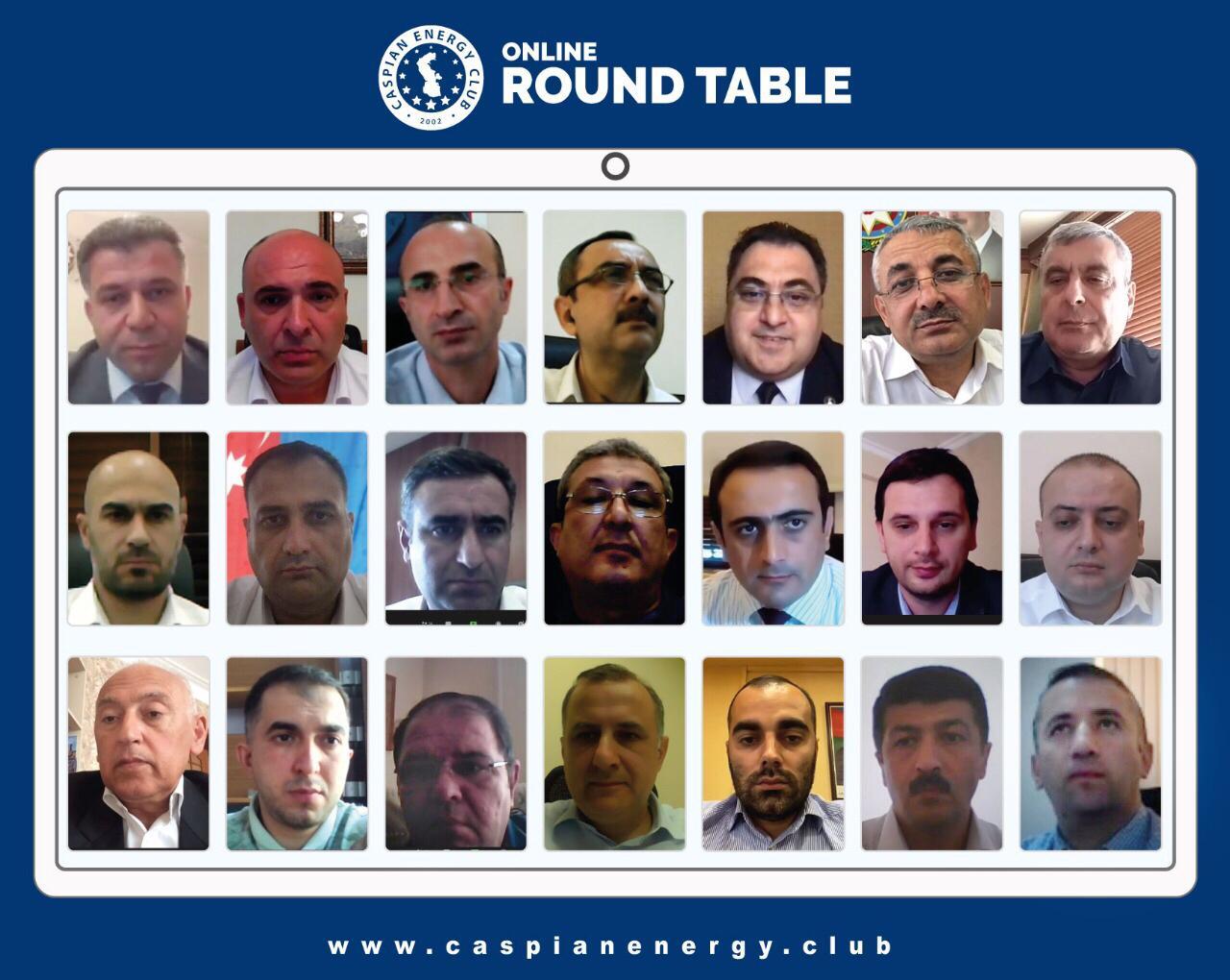 Руслан Алиев провел встречу с членами Caspian Energy Club