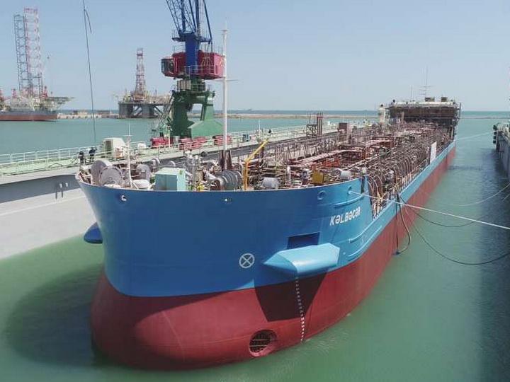Made in Azerbaijan: Спущен на воду огромный танкер «Кельбаджар» - ФОТО - ВИДЕО