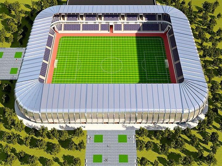 Azərbaycanda möhtəşəm stadion inşa ediləcək - FOTO