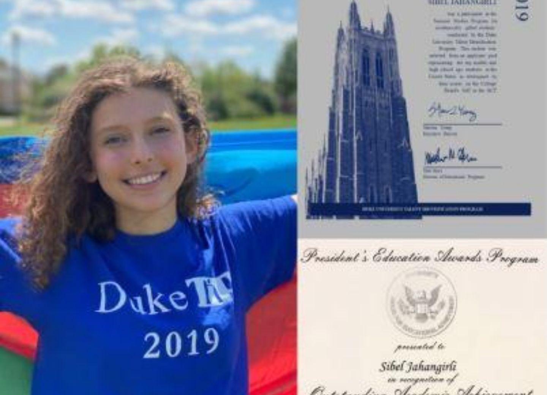 Азербайджанская школьница, проживающая в Канаде, добилась очередного успеха