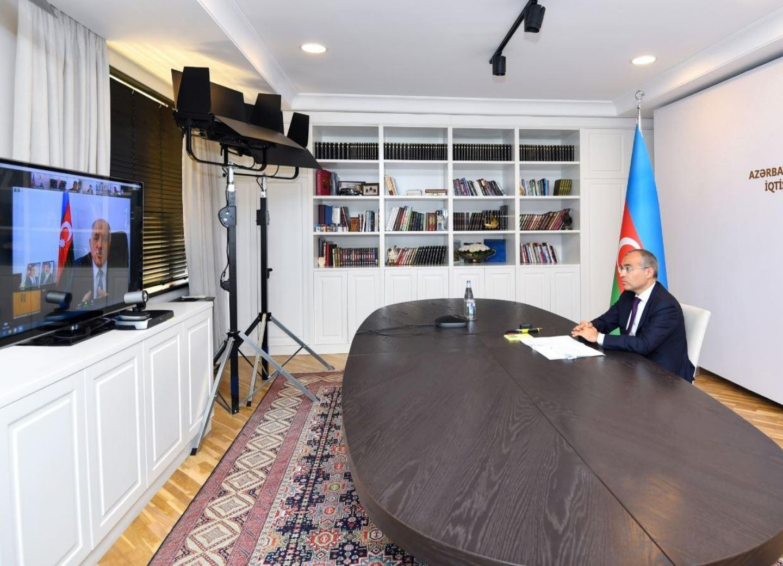 Прошла встреча министра экономики с предпринимателями - ФОТО