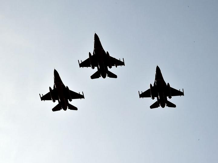 Первый этап совместных летно-тактических учений «TurAz Qartalı – 2020» продолжается - ВИДЕО