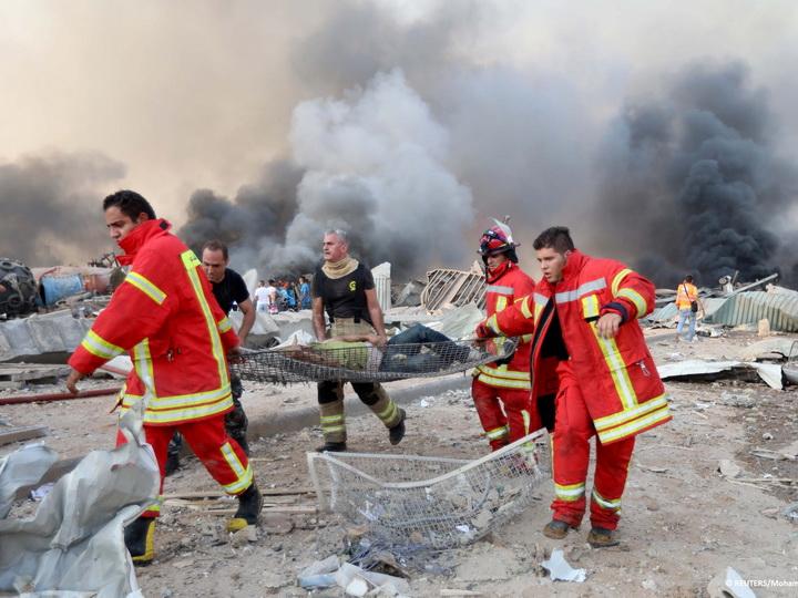 Среди жертв взрыва в Бейруте граждане шести иностранных государств