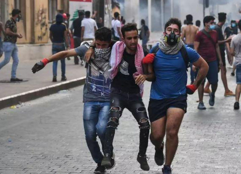 СМИ: число пострадавших в ходе протестов в Бейруте достигло 728