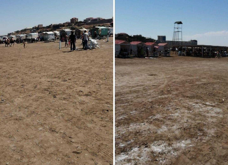 Исполнительная власть Баку обратилась к гражданам, посещающим пляжи - ФОТО - ВИДЕО