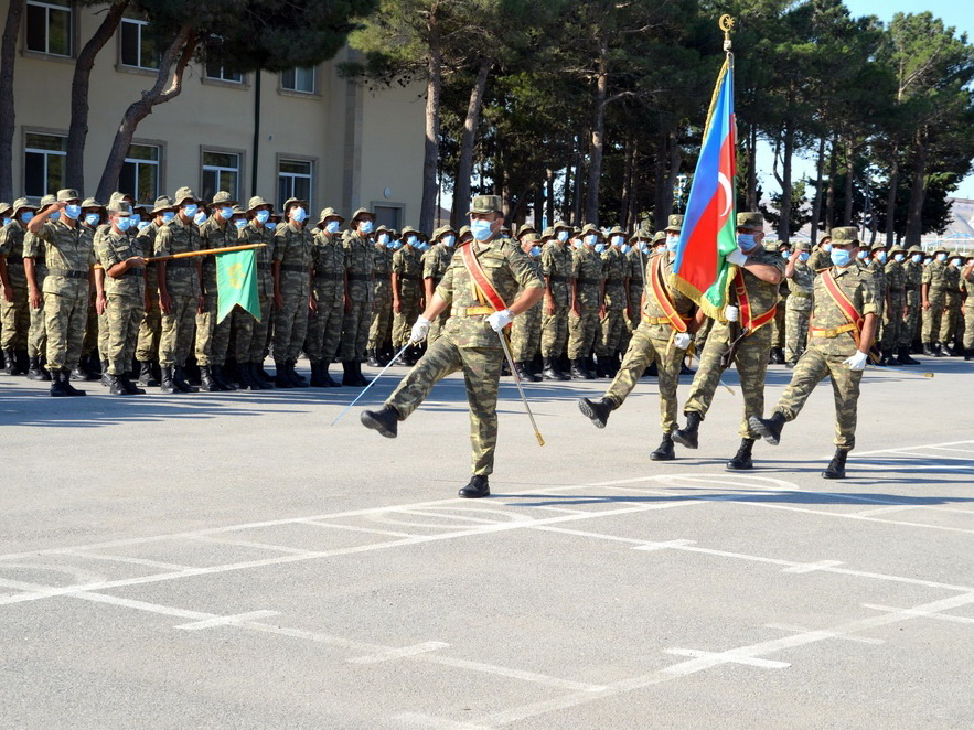 В Азербайджанской Армии состоялась церемония принятия Военной присяги - ФОТО