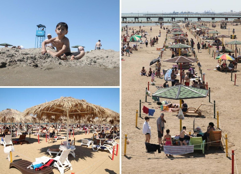Какими должны быть пляжи во время пандемии - ФОТОРЕПОРТАЖ