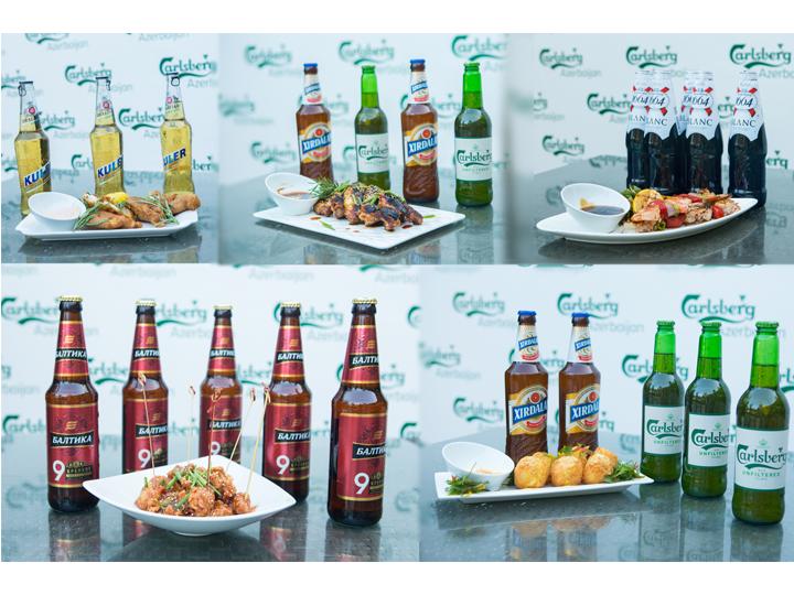 Carlsberg Azerbaijan və Şef Aleks fudpeyrinqin sirlərini açdılar - FOTO+VİDEO