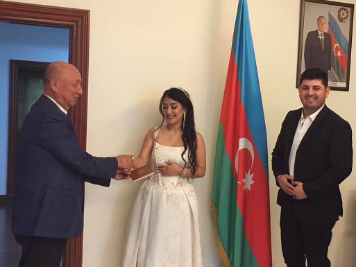 Граждане Азербайджана и Узбекистана заключили брак в Малайзии – ФОТО