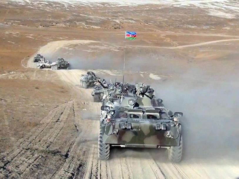 Продолжается первый этап азербайджано-турецких учений с участием подразделений Сухопутных войск – ФОТО - ВИДЕО