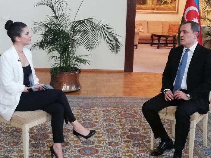 Джейхун Байрамов - CNN Turk: «Международные организации и государства должны оказывать серьезное давление на Армению» - ВИДЕО