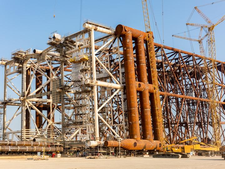 BOS Shelf построила крупнейшую в истории Каспия подводную конструкцию для добычи нефти и газа - ВИДЕО