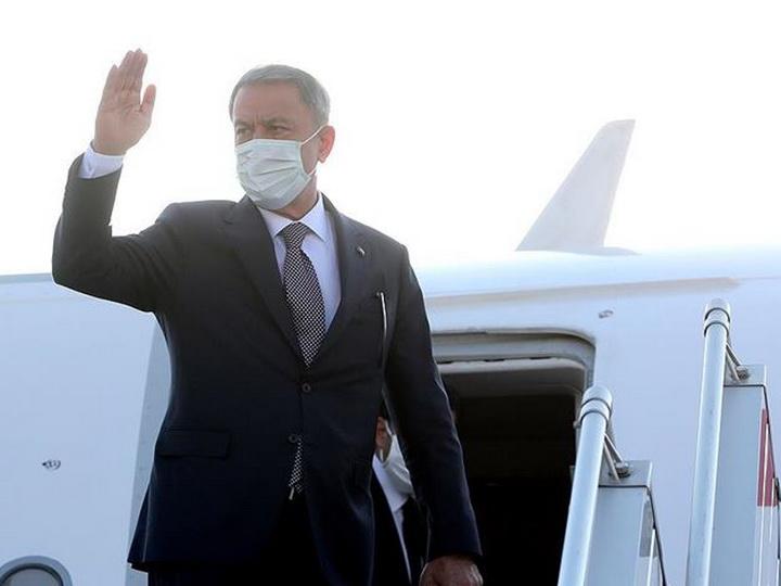Министр обороны Турции прибыл в Азербайджан - ФОТО - ВИДЕО