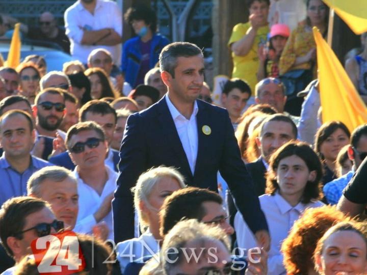 Азербайджанец стал кандидатом на парламентских выборах в Грузии - ФОТО